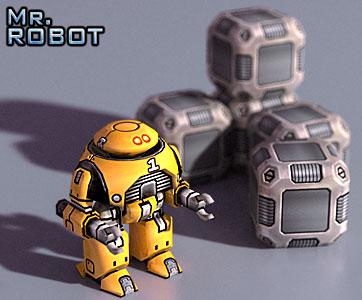 Mr. Robot: Asimov Render