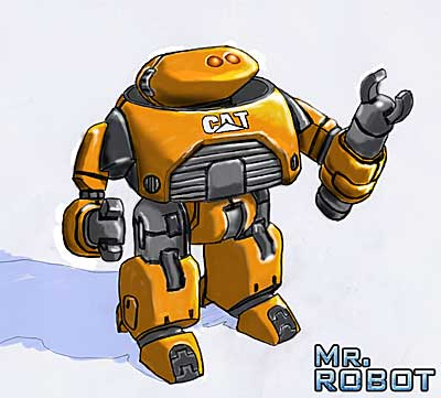 Mr. Robot: Asimov Concept Art