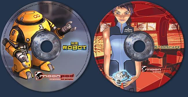 Mr Robot/Starscape: New CD designs