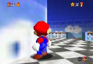 Mario: Against a Wall