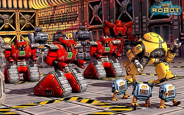 Mr. Robot: Robot Rampage!.