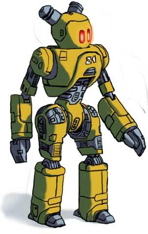Mr. Robot - Zelda Concept Art