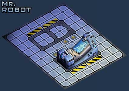 Mr Robot: Cryogenics Floors Set Example