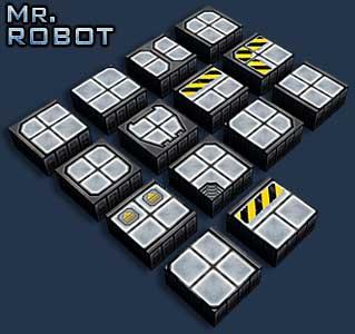 Mr Robot: Cryogenic Zone Floors