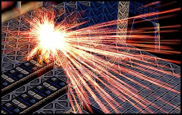 Mr. Robot: Firewall Particle Effect