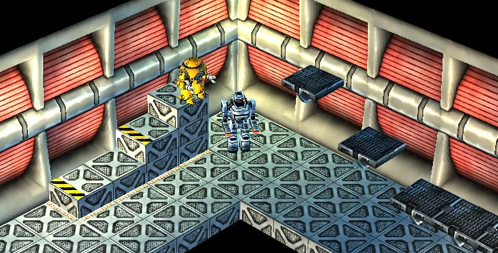 Mr Robot: Luma Test-Bright