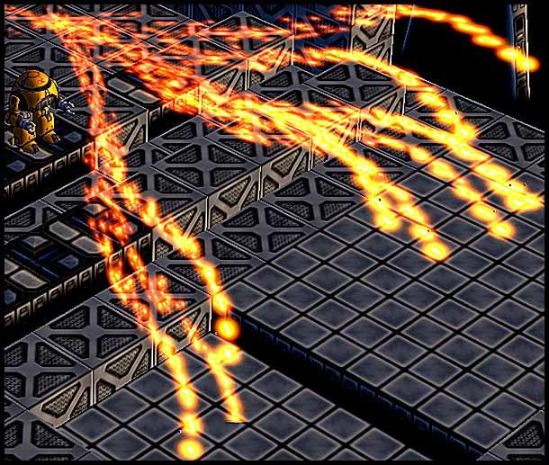Mr. Robot: Multi Strike Particle Effect