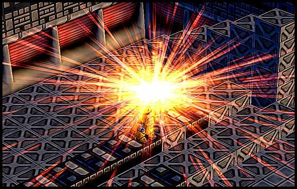 Mr. Robot: Power Drain Particle Effect