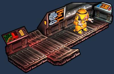 Mr. Robot Shuttle Interior