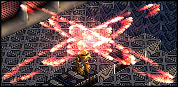 Mr. Robot: Unistrike Launch Particle Effect