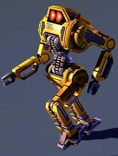 Mr Robot: Raistlin ingame model