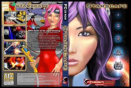 Starscape: Second Edition DVD Cover.