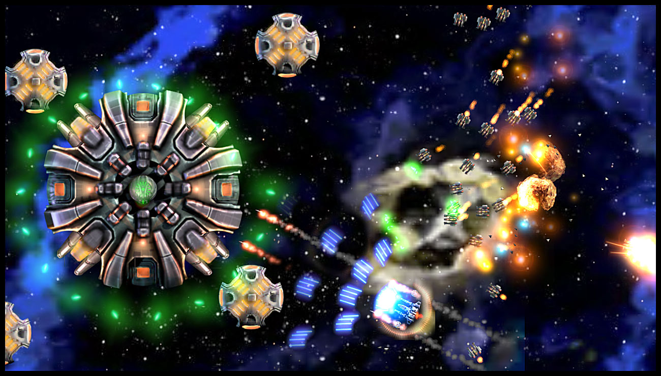 Starscape on Xbox Live Arcade: Boss Run