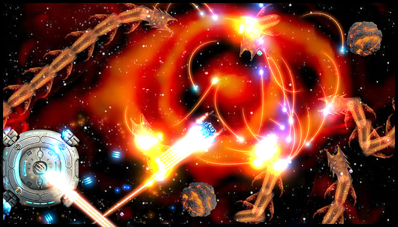 Starscape on Xbox Live Arcade: Danger Node