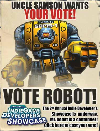 VOTE FOR MR ROBOT!