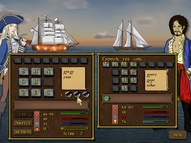 Word battles, pirate ships and adventure